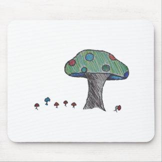 Toad Stool Mushroom Mouse Pads