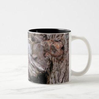 Toad Stool Two-Tone Coffee Mug