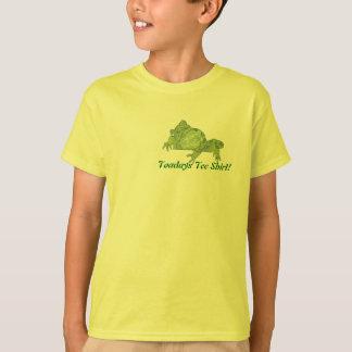 """Toad """"Toadays"""" Kids Tee Shirt"""