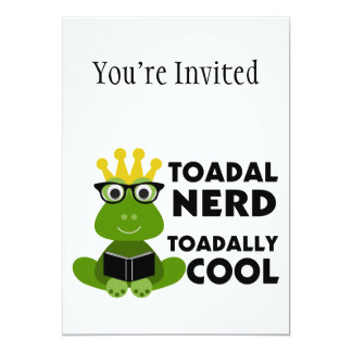 Toadal Nerd Toadally Cool Card