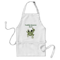 Toadally Awesome Aunt! apron