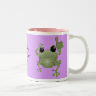 Toadally Awesome Aunt! Two-Tone Coffee Mug