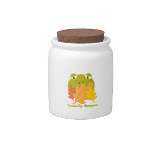 Toadally Awesome Candy Jar