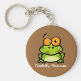 Toadally Awesome Keychain