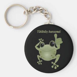 Toadally Awesome! Keychain