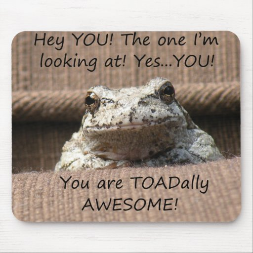 TOADally Awesome - Mousepad