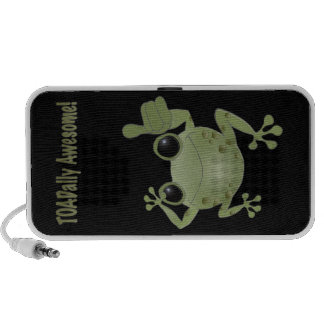Toadally awesome toad! laptop speakers