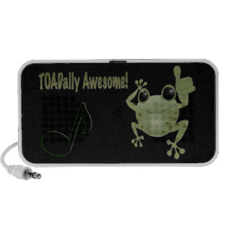Toadally awesome toad! travelling speaker