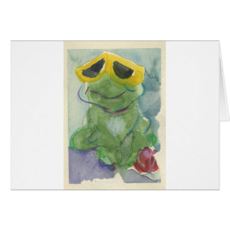 Toadally Awesome Tyrone T. Toad Card