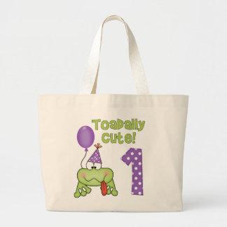 Toadally Cute 1st Birthday Bag