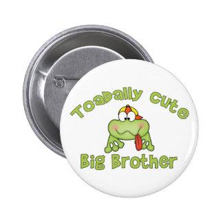 Toadally Cute Big Brother Pins
