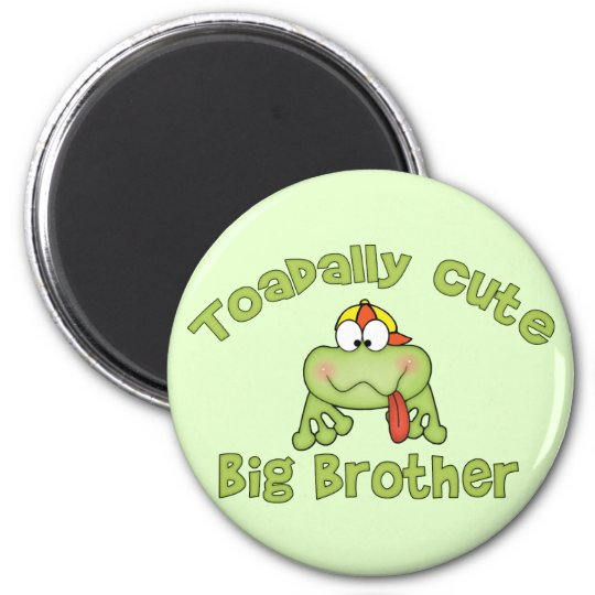 Toadally Cute Big Brother Magnet