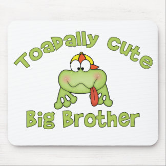 Toadally Cute Big Brother Mousepad