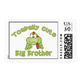 Toadally Cute Big Brother Postage