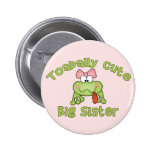 Toadally Cute Big Sister 2 Inch Round Button