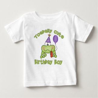 Toadally Cute Birthday Boy T Shirt