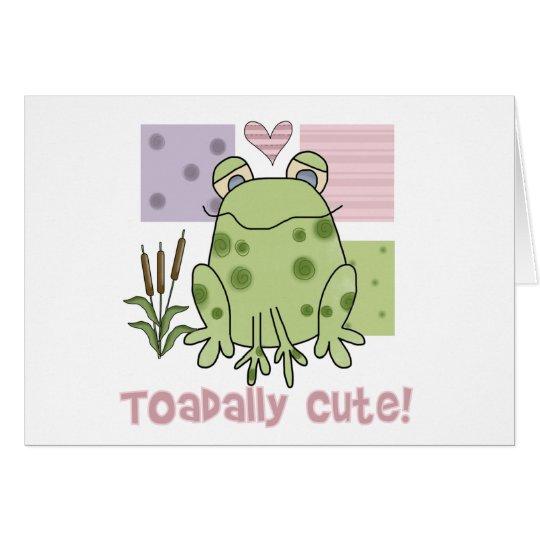 Toadally Cute  Card