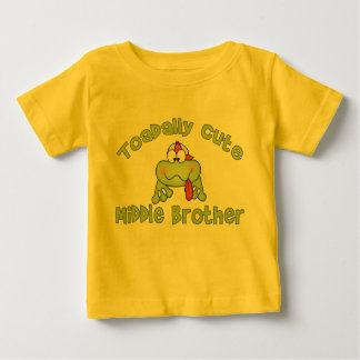 Toadally Cute Middle Brother Baby T-Shirt
