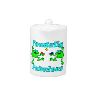 Toadally Fabulaous Teapot