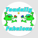 Toadally Fabulous Stickers