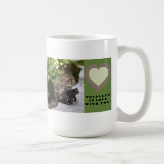 toadally in love with you mug