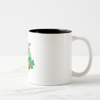 toadally irish Two-Tone coffee mug