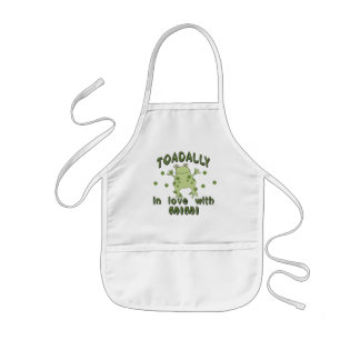 TOADALLY Love Mimi Frog Kids' Apron
