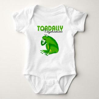 Toadally Vegetarian Baby Bodysuit