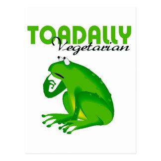 Toadally Vegetarian Postcard