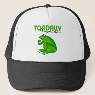 Toadally Vegetarian Trucker Hat