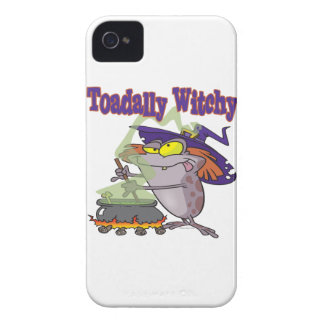 toadally witch funny toad witch brew cartoon iPhone 4 cases