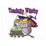 toadally witch funny toad witch brew cartoon post card