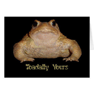 Toadally Yours Card