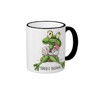 toadily insane without my coffee! coffee mugs