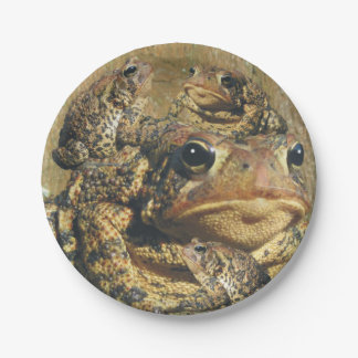 Toadly Awesome Toad Paper Plate