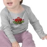 Toadly en tarjeta del día de San Valentín del amor Camiseta