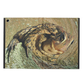 Toadly Funny Riding The Wave Toad Cover For iPad Air