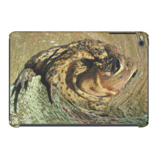 Toadly Funny Riding The Wave Toad iPad Mini Cover