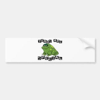 Toads Are Special Car Bumper Sticker