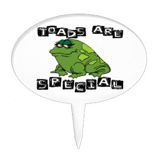 Toads Are Special Cake Topper