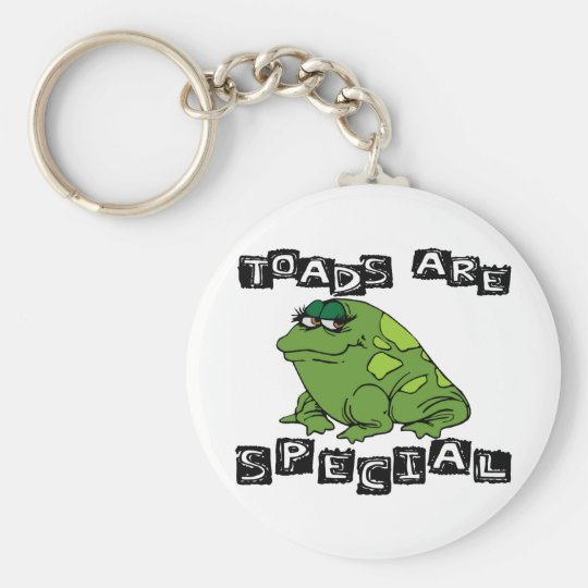 Toads Are Special Keychain