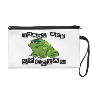 Toads Are Special Wristlet Purse