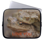 "Toads ""The Ugly Couple"" Laptop Sleeve"