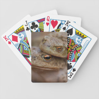 """Toads """"The Ugly Couple""""Playing Cards Bicycle Playing Cards"""