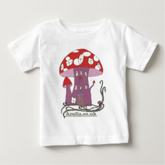 Toadstool Castle (colour) Baby T-Shirt