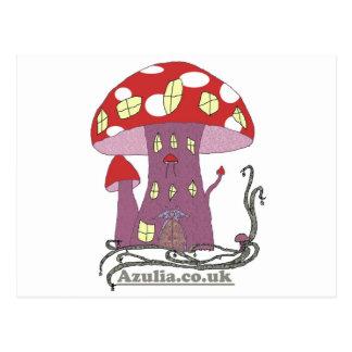 Toadstool Castle (in colour) Postcard