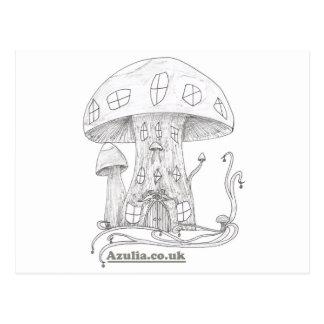 Toadstool Castle Postcard