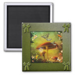 Toadstool Collection Refrigerator Magnet
