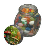 Toadstool garden jellybean jars and tins jelly belly candy jar