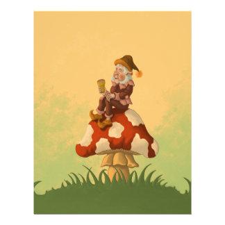 toadstool gnome letterhead